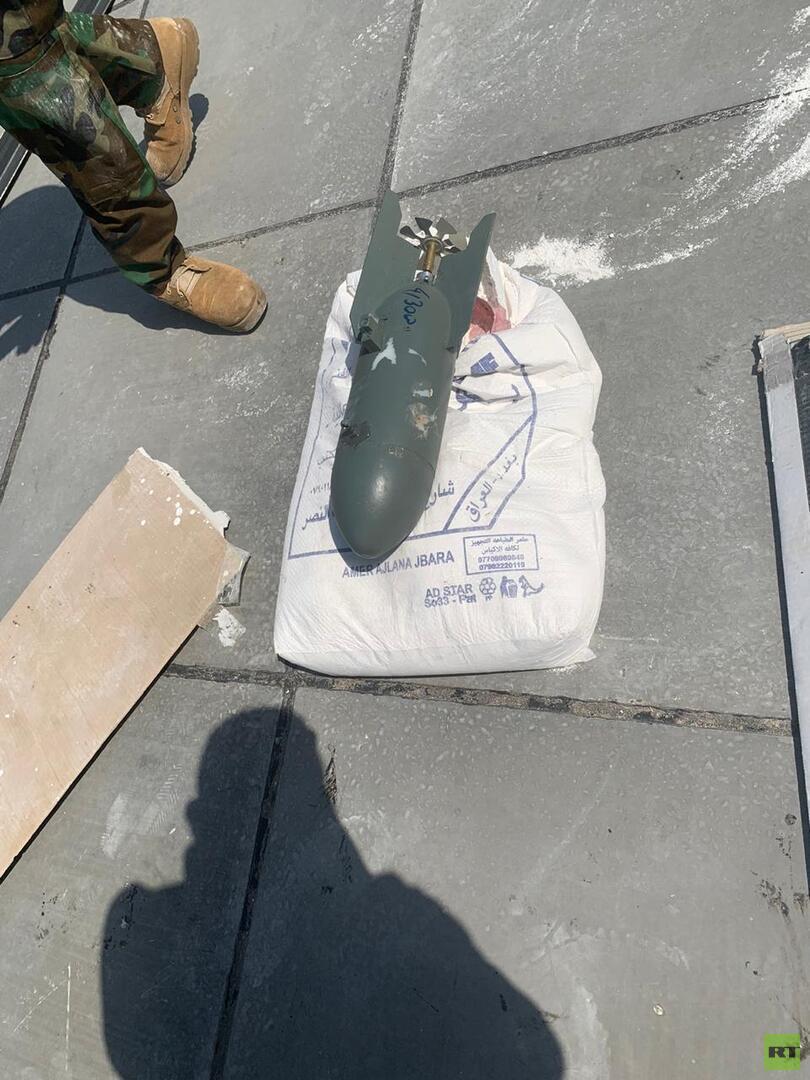 العراق.. ضبط طائرة مسيرة تحمل متفجرات قرب المنطقة الخضراء (صور)