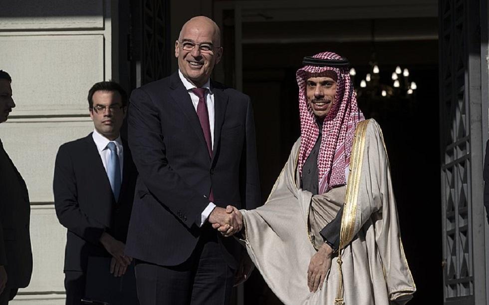 اليونان تجري محادثات مع السعودية وسط التوتر مع تركيا