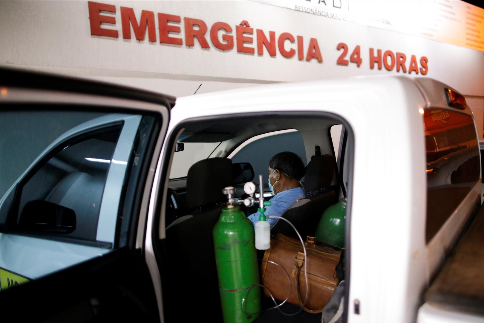 البرازيل تسجل نحو 60 ألف إصابة جديدة بكورونا