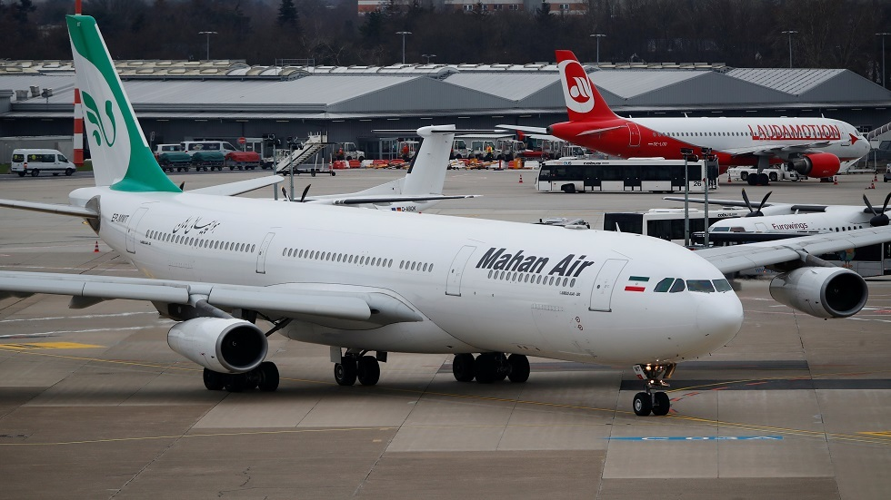 إيران تحتج رسميا لدى منظمة دولية بعد حادث اعتراض طائرتها المدنية فوق سوريا