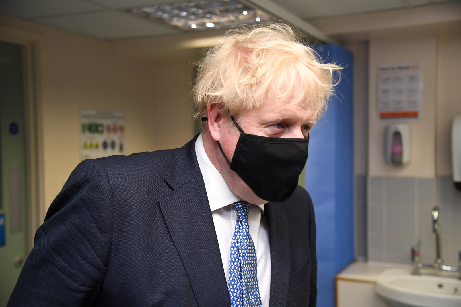 رئيس الوزراء البريطاني بوريس جونسون