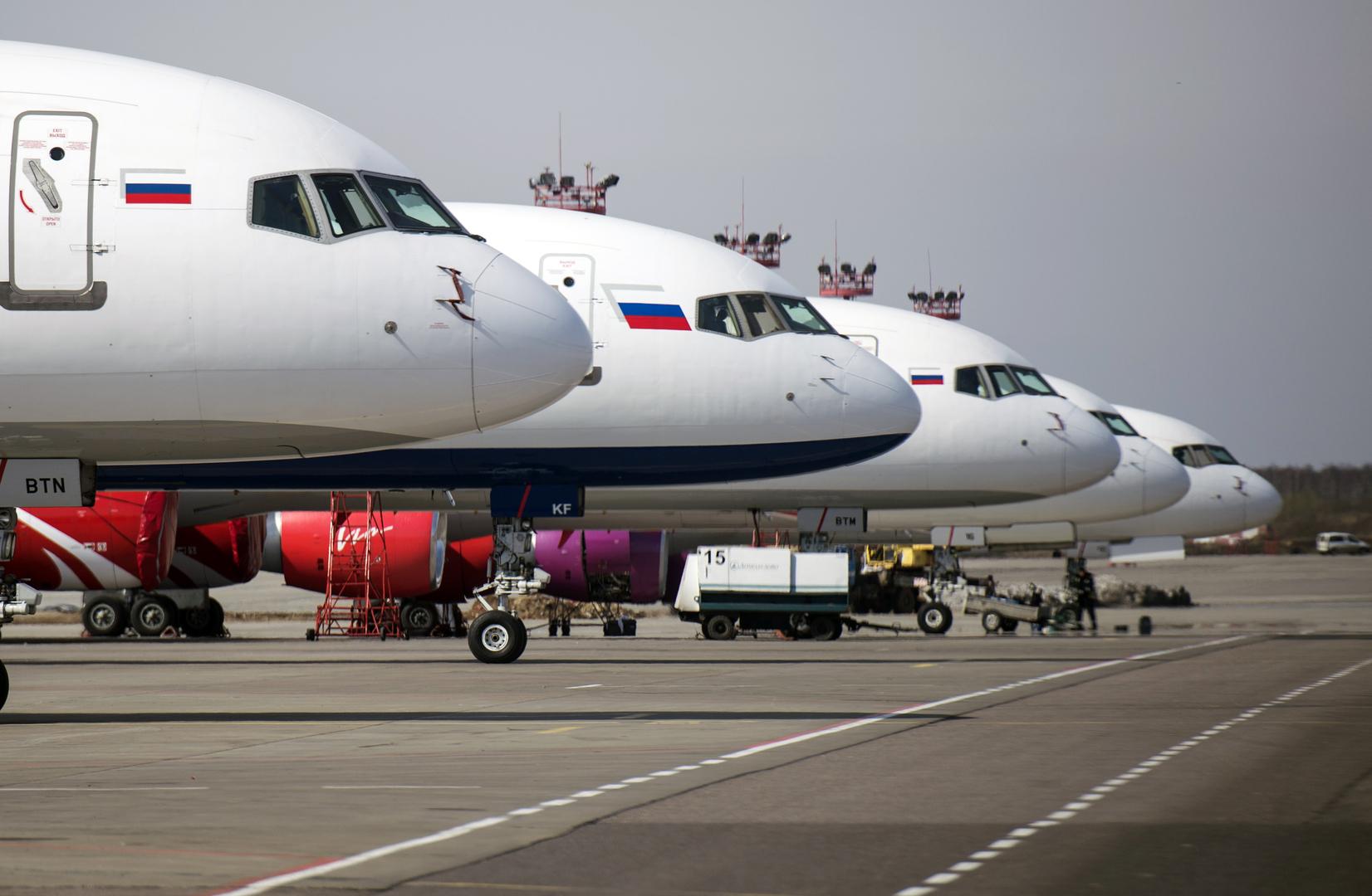 روسيا تستأنف رحلات الطيران الدولية اعتبارا من 1 أغسطس