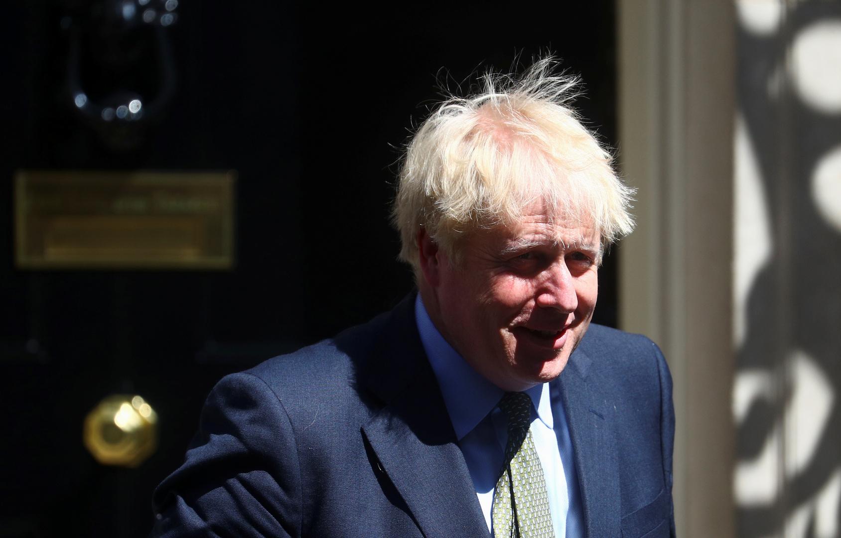بوريس جونسون رئيس وزراء بريطانيا