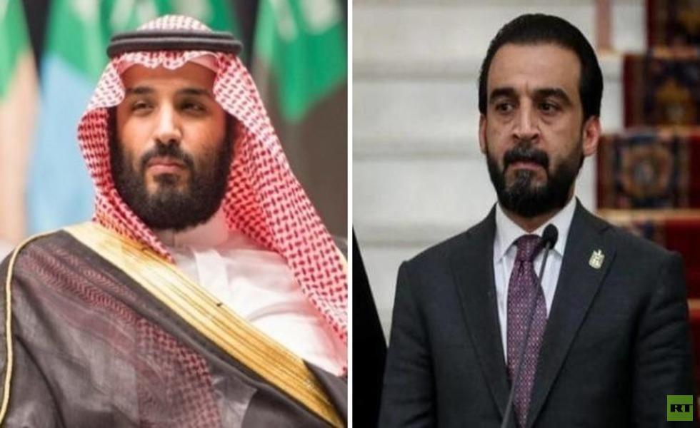 بن سلمان يطمئن الحلبوسي على صحة الملك السعودي
