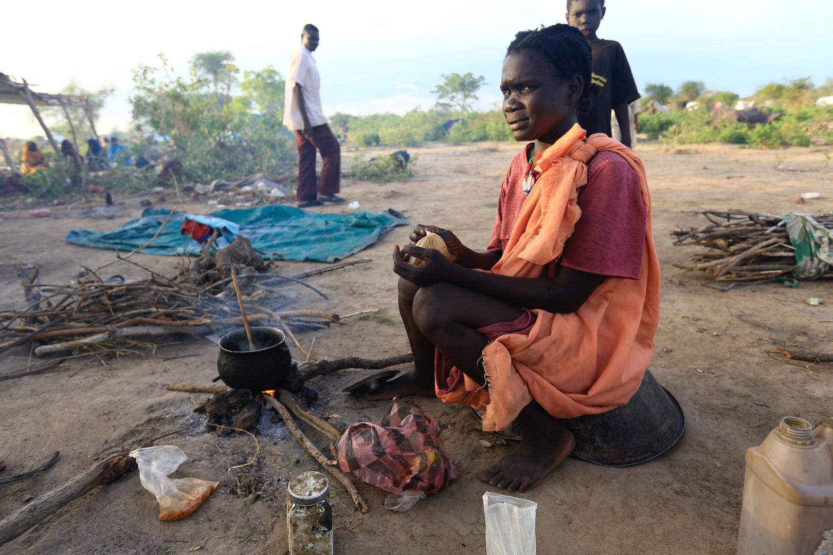 نازحون في دارفور - صورة أرشيفية