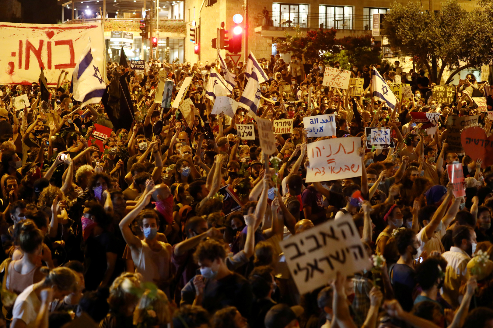 إسرائيل.. اعتقال 8 متظاهرين عند منزل نتنياهو