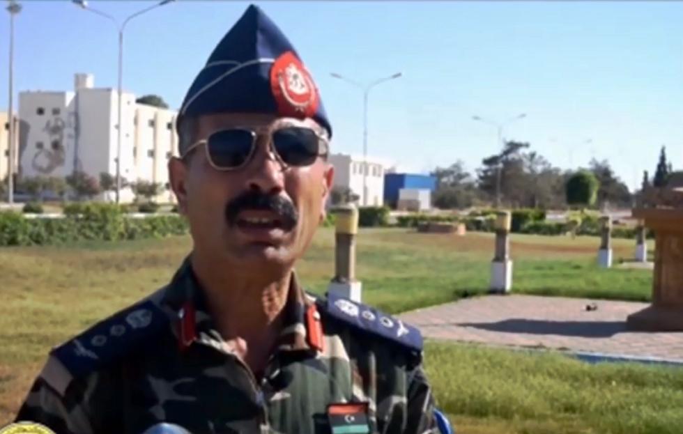 الناطق باسم قوات حكومة الوفاق الليبية العقيد محمد قنونو