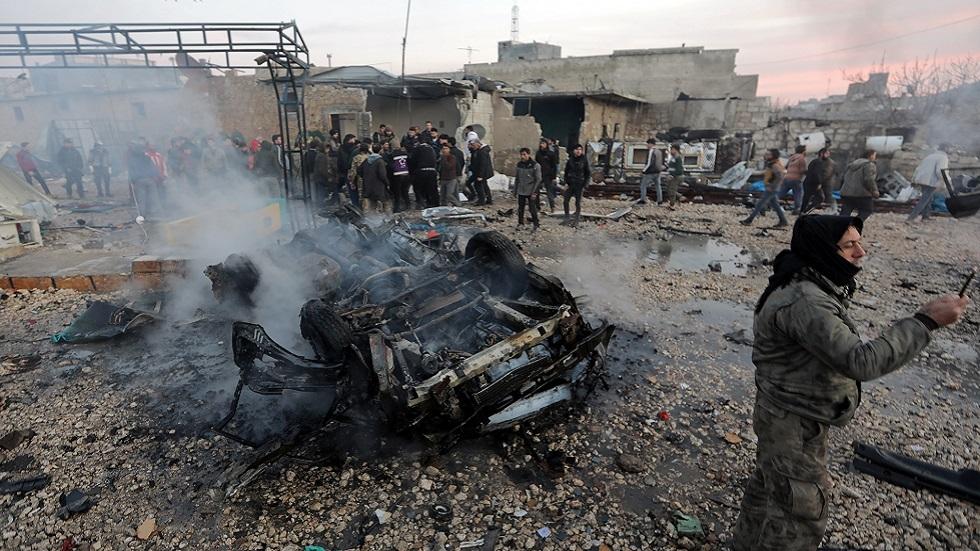 تفجير سيارة ملغومة في الشمال السوري (صورة أرشيفية)