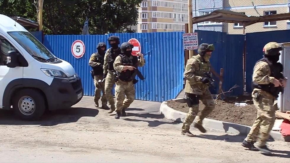 عملية لعناصر الأمن الفدرالي الروسي (صورة أرشيفية)