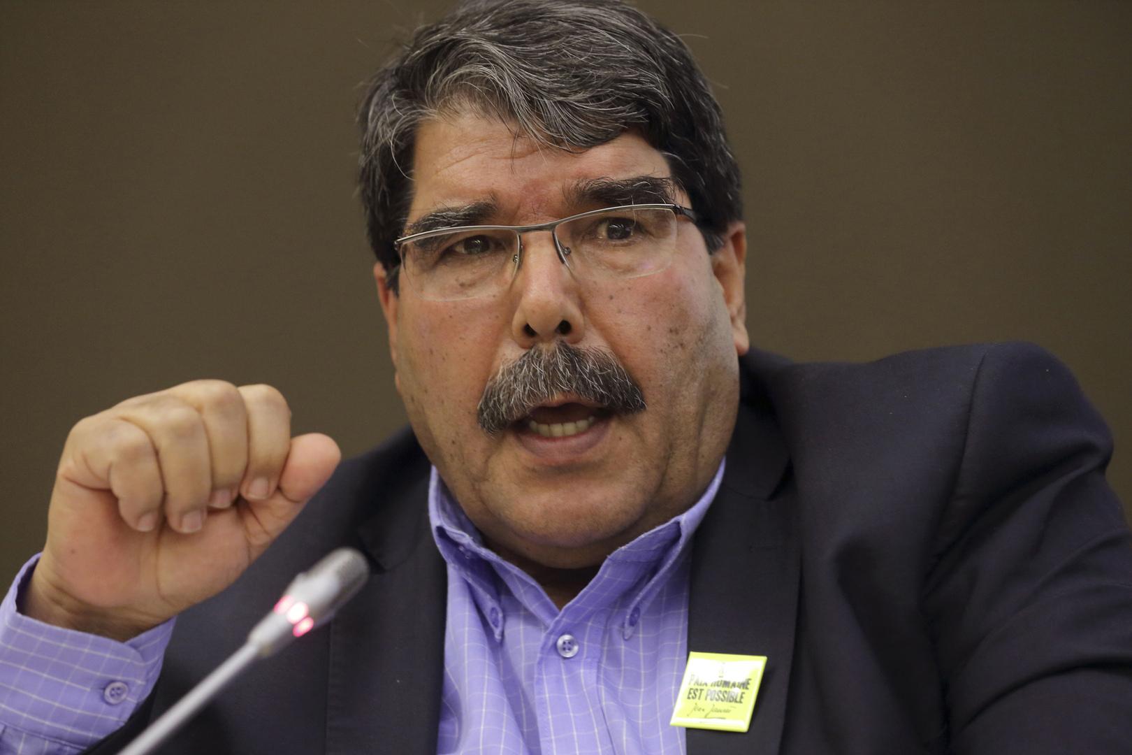 السياسي الكردي السوري صالح مسلم