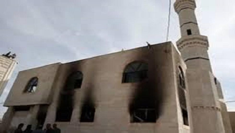 الأزهر يدين إحراق جماعة صهيونية متطرفة مسجدا في الضفة الغربية