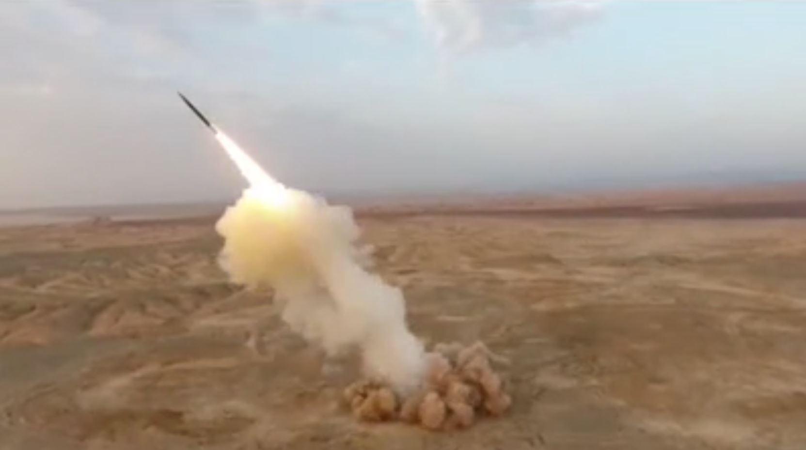 إطلاق صواريخ باليستية من مواقع تحت الأرض في إيران!