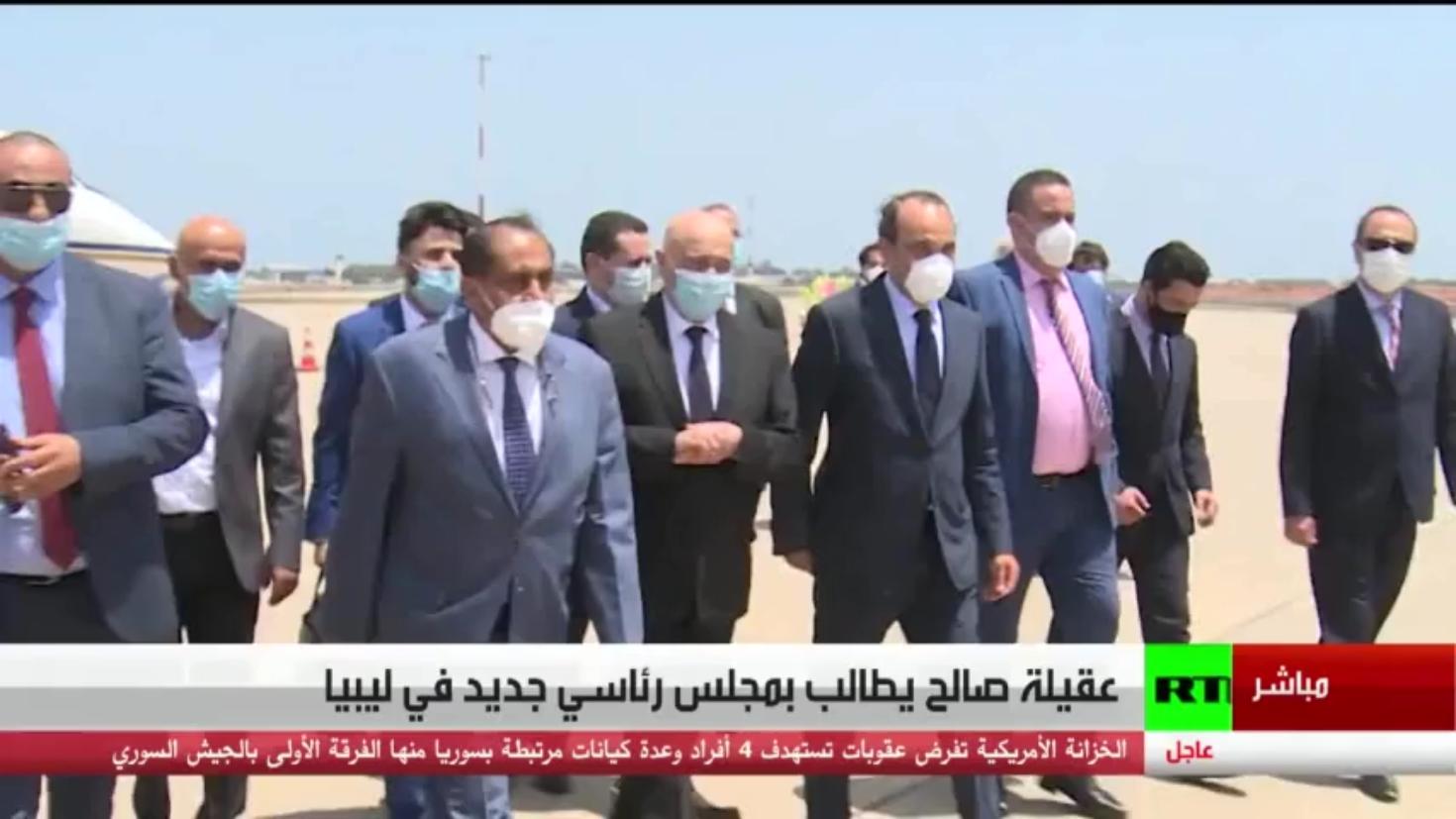 عقيلة صالح يطالب بمجلس رئاسي جديد في ليبيا