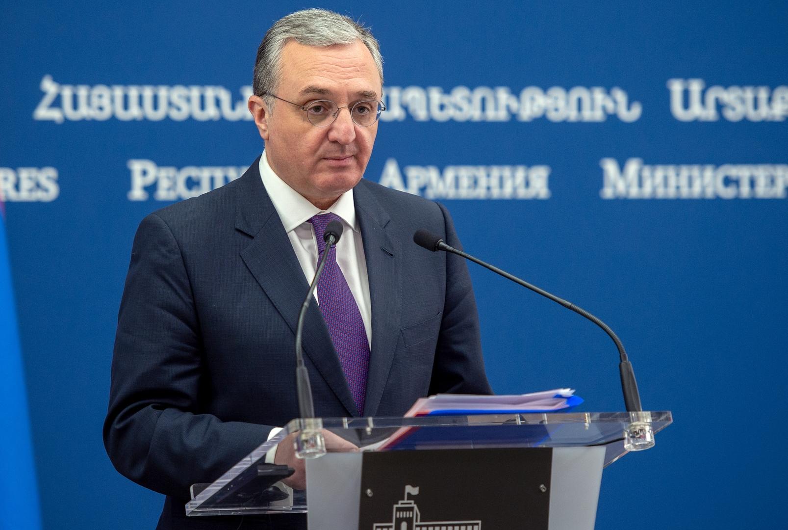 أرمينيا توجه رسالة صارمة إلى إسرائيل بشأن