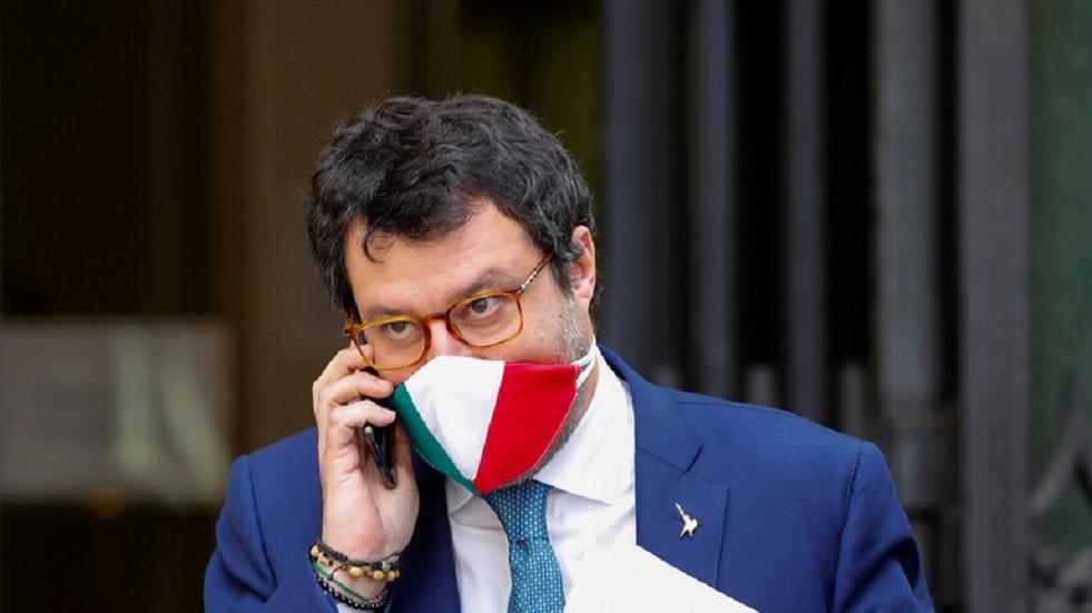 ماتيو سالفيني زعيم حزب