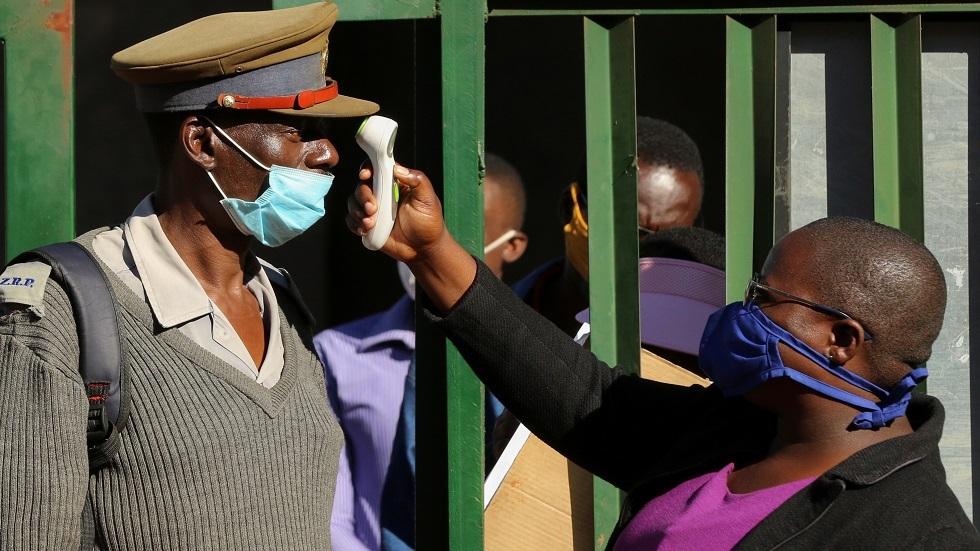 فحص كورونا في زيمبابوي- أرشيف