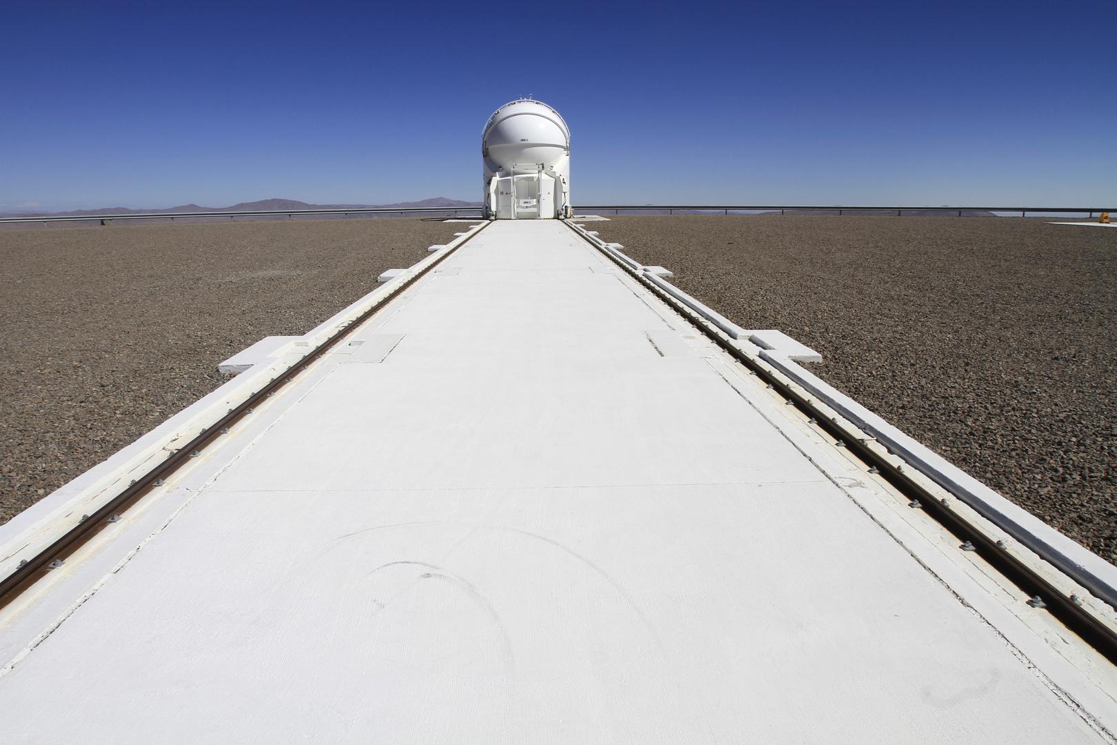 تلسكوب يرصد فراشة الفضاء النادرة للغاية