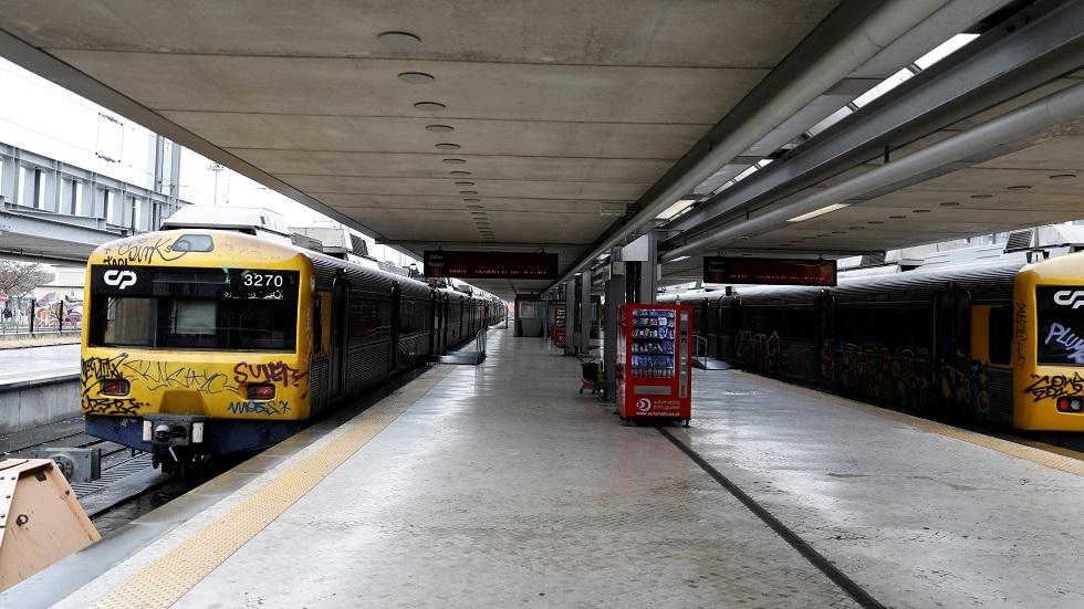 قطار في البرتغال