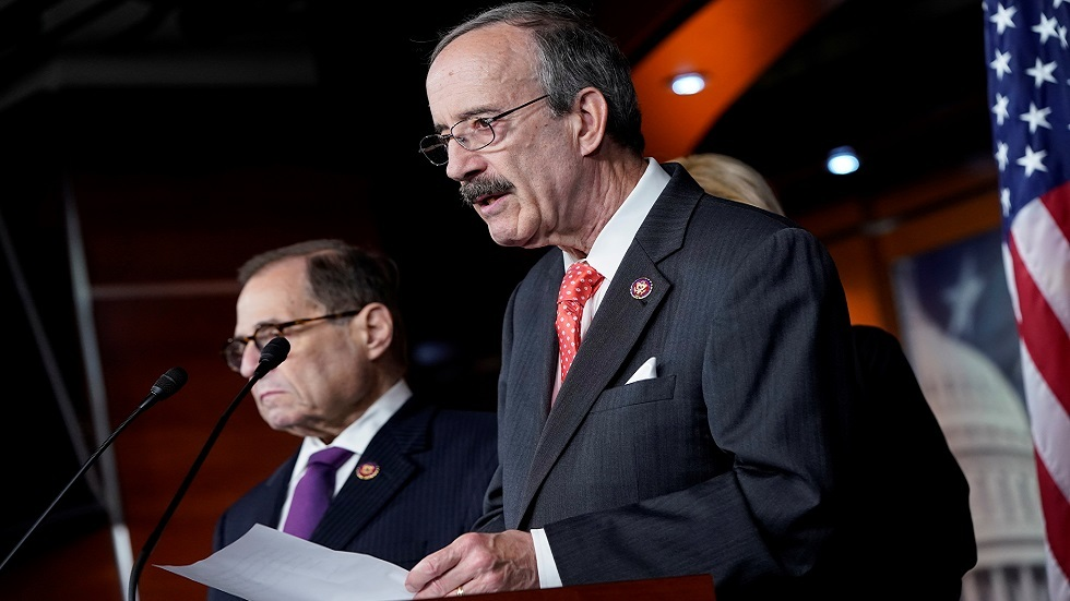 رئيس لجنة الشؤون الخارجية بمجلس النواب الأمريكي إليوت إنغل (صورة أرشيفية)