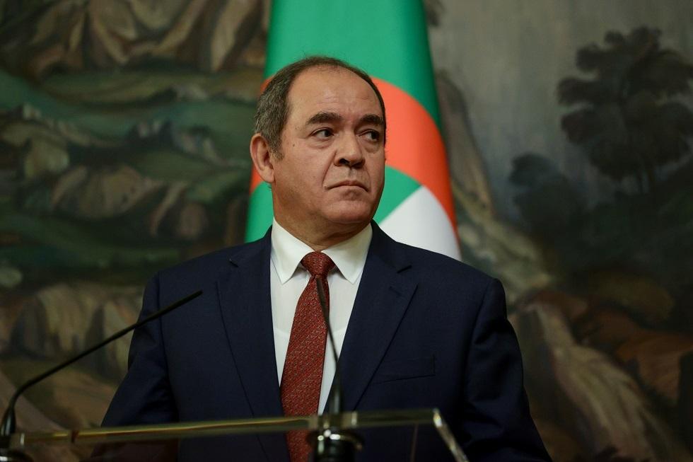 وزير الخارجية الجزائري صبري بوقدوم