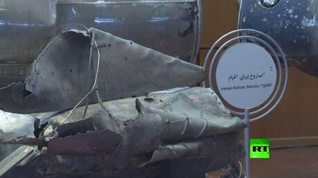التحالف العربي يعرض أسلحة إيرانية يستخدمها الحوثيون