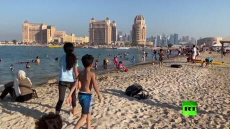 الدوحة تعيد فتح شواطئها بعد رفع الحجر