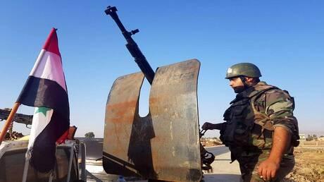 سانا: الجيش السوري يعترض رتل مدرعات أمريكية (صور)