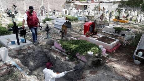 المكسيك.. 539 وفاة و6094 إصابة جديدة بفيروس كورونا المستجد
