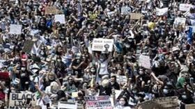 عشرات آلاف العمال الأمريكيين يضربون ضد العنصرية في 20 الجاري