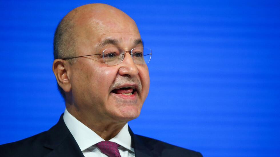 الرئيس العراقي: الانتخابات المبكرة استحقاق أفرزه الحراك الشعبي