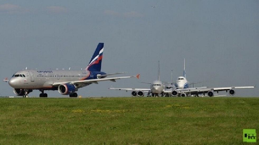 أول رحلة جوية منتظمة تقلع من موسكو بعد استئناف الرحلات الدولية