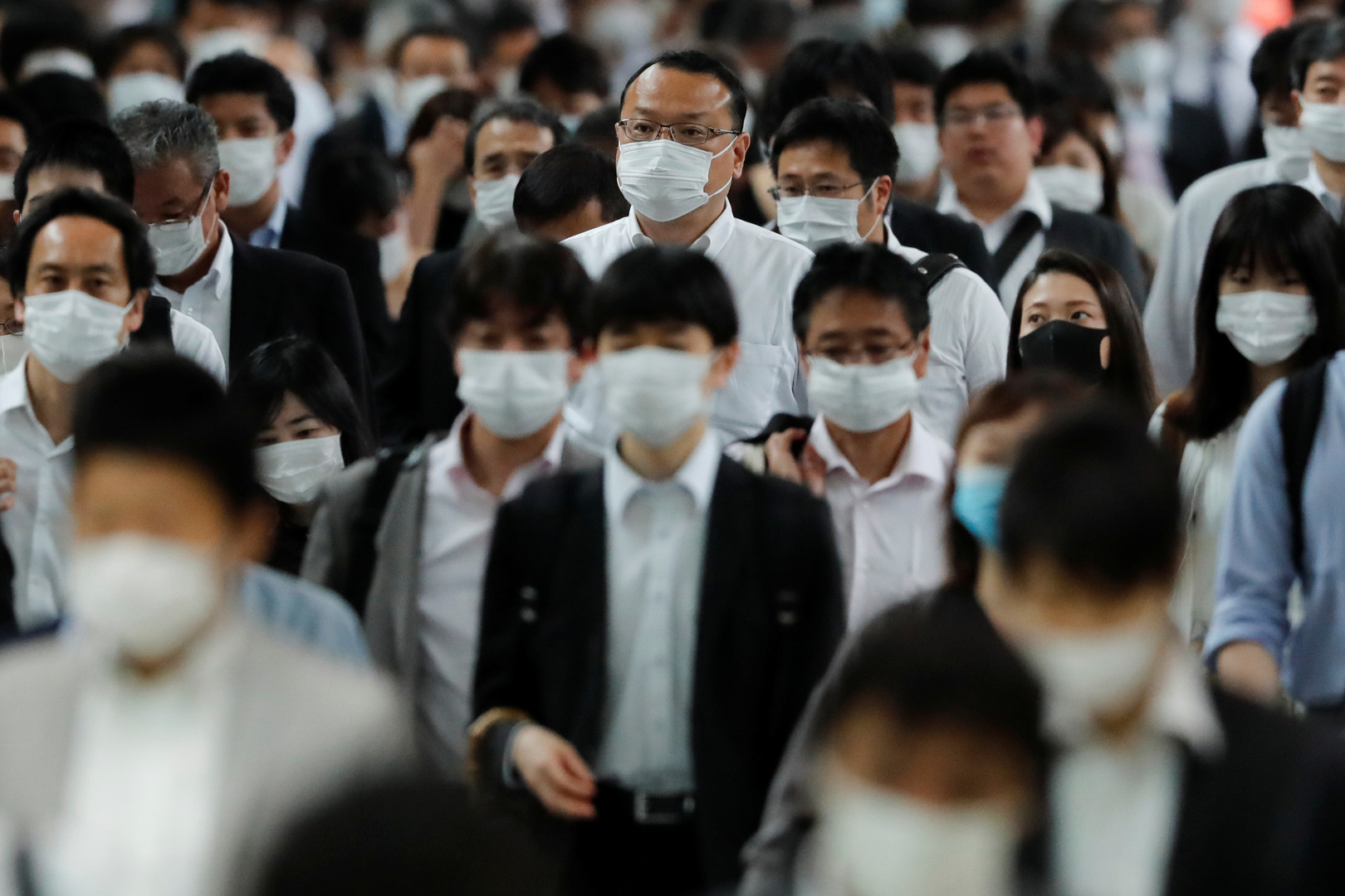طوكيو تسجل زيادة قياسية جديدة في الإصابات بفيروس كورونا