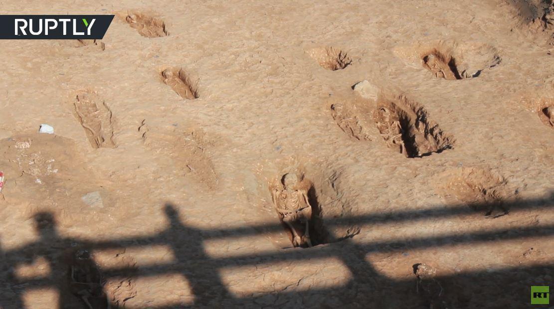 اكتشاف مفاجئ.. مدينة أموات قديمة قرب طريق سريع في إسبانيا