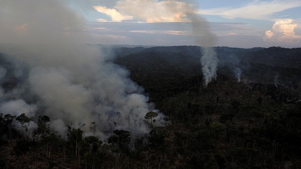 حرائق غابات الأمازون تسجل قفزة في يوليو وخبراء يحذرون من دمار هائل