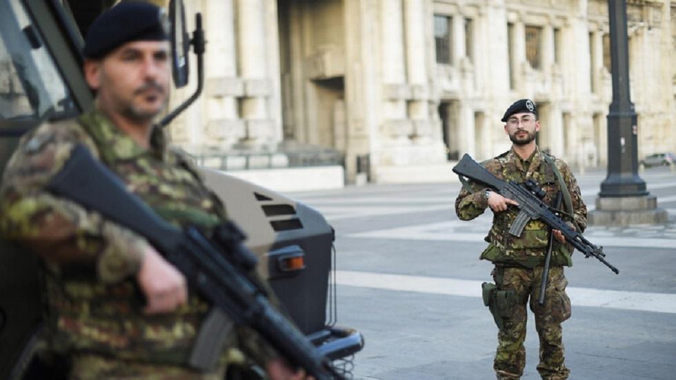 عناصر من الجيش الإيطالي - أرشيف -