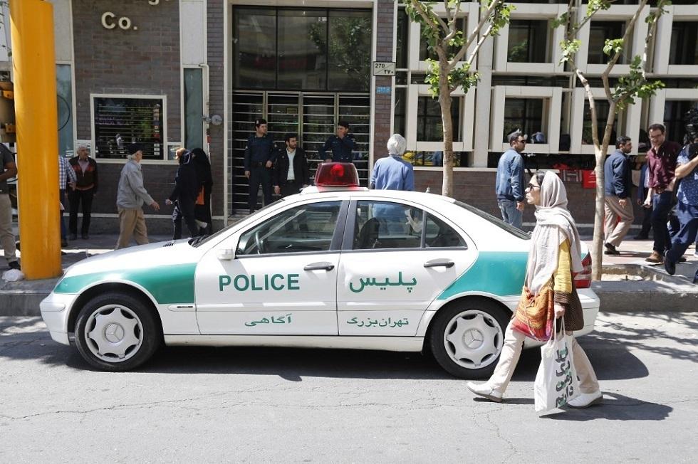 شرطة طهران تلاحق عددا من مؤيدي طالبان الأفغانية (صور)