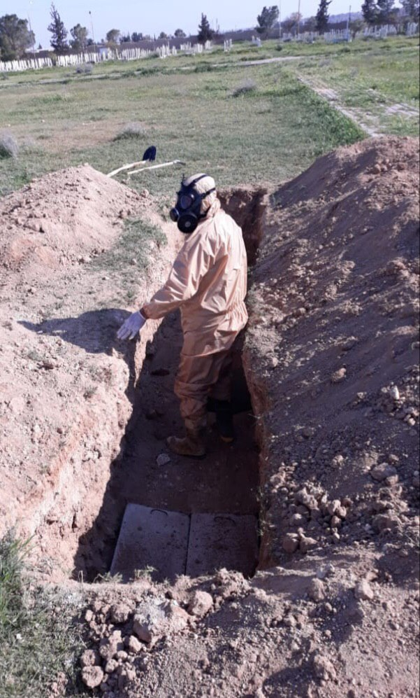 سوريا.. مصدر في مكتب دفن الموتى يكشف حقيقة وجود وفيات كبيرة بكورونا (صور)