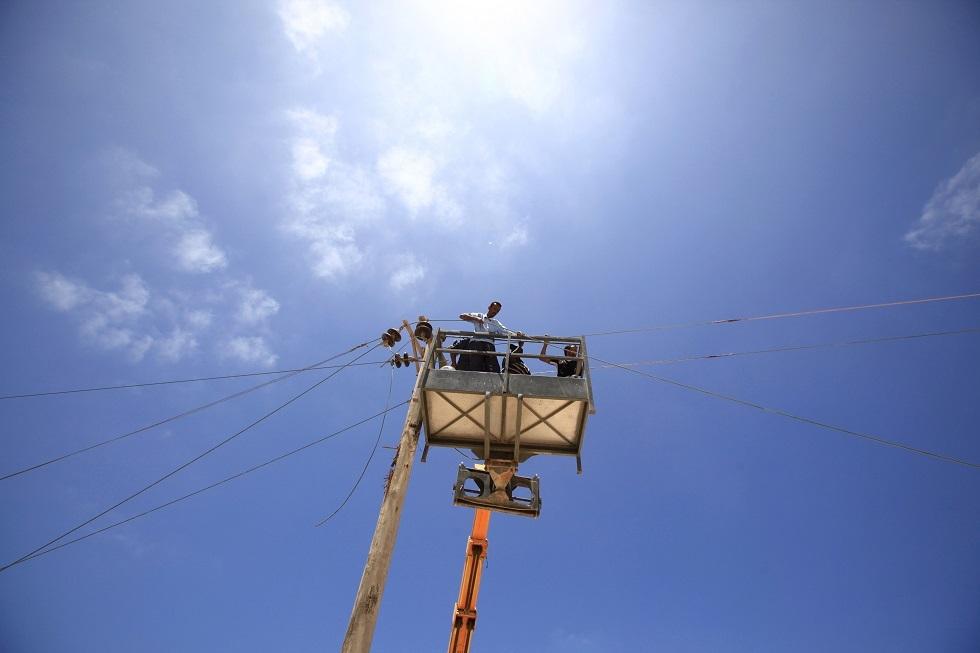خطوط كهربائية في ليبيا -أرشيف-