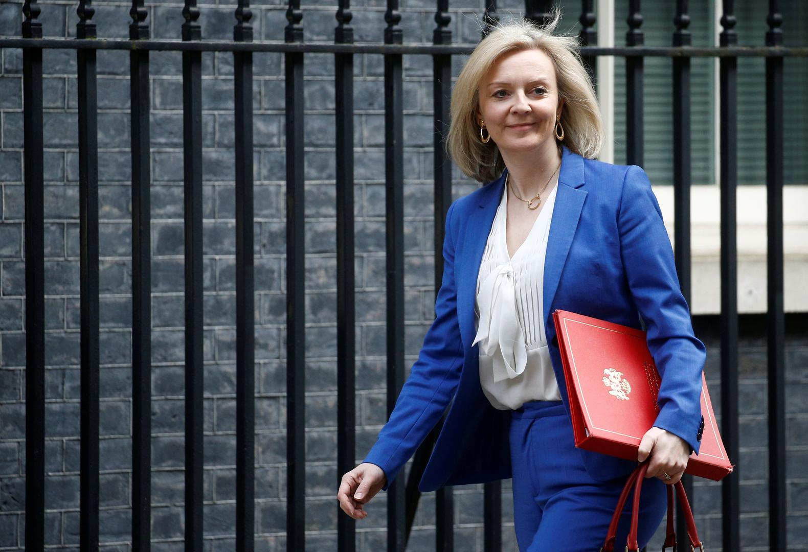 وزيرة التجارة البريطانية إلى واشنطن لبحث اتفاقية التجارة الحرة