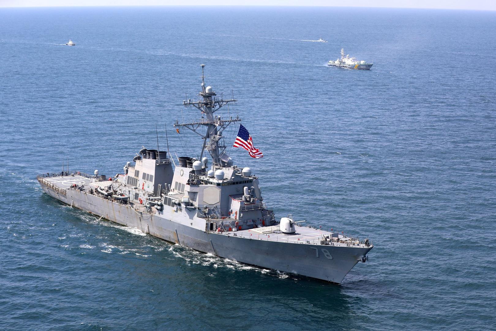 مناورات أمريكية في البحر الأسود