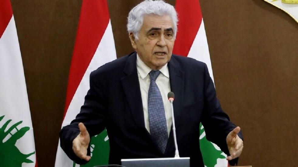 وزير الخارجية اللبناني يعتزم تقديم استقالته الاثنين