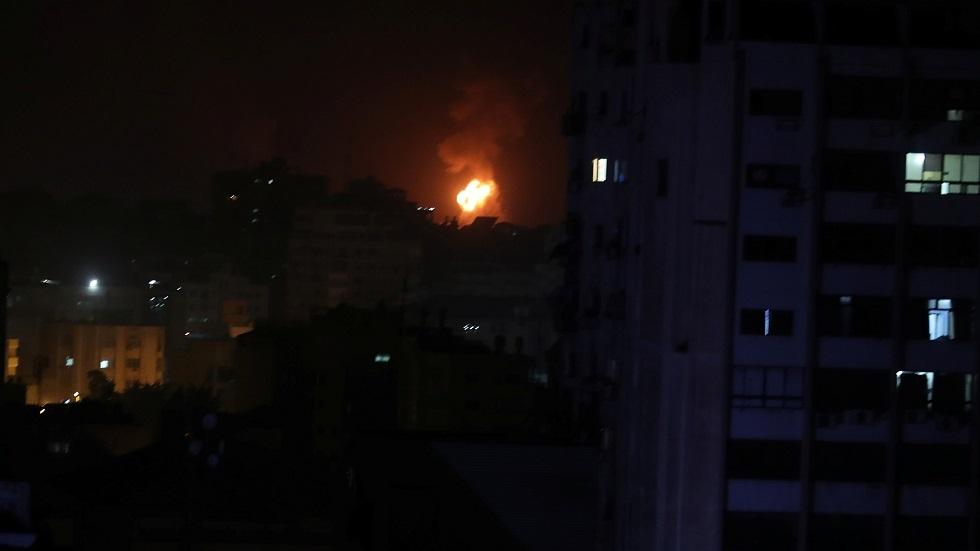 قصف إسرائيلي على قطاع غزة - أرشيف