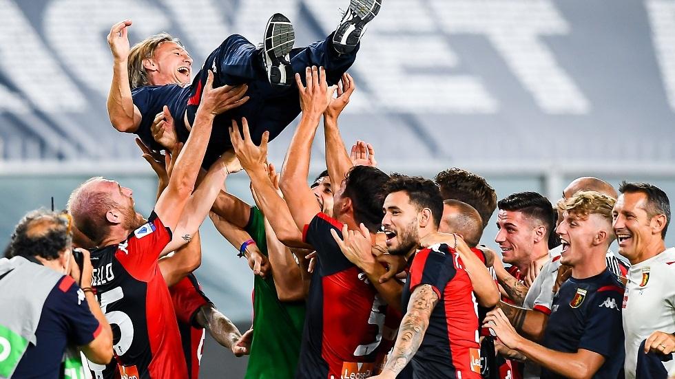الدوري الإيطالي.. جنوى ينجو من الهبوط وليتشي يودع دوري الأضواء