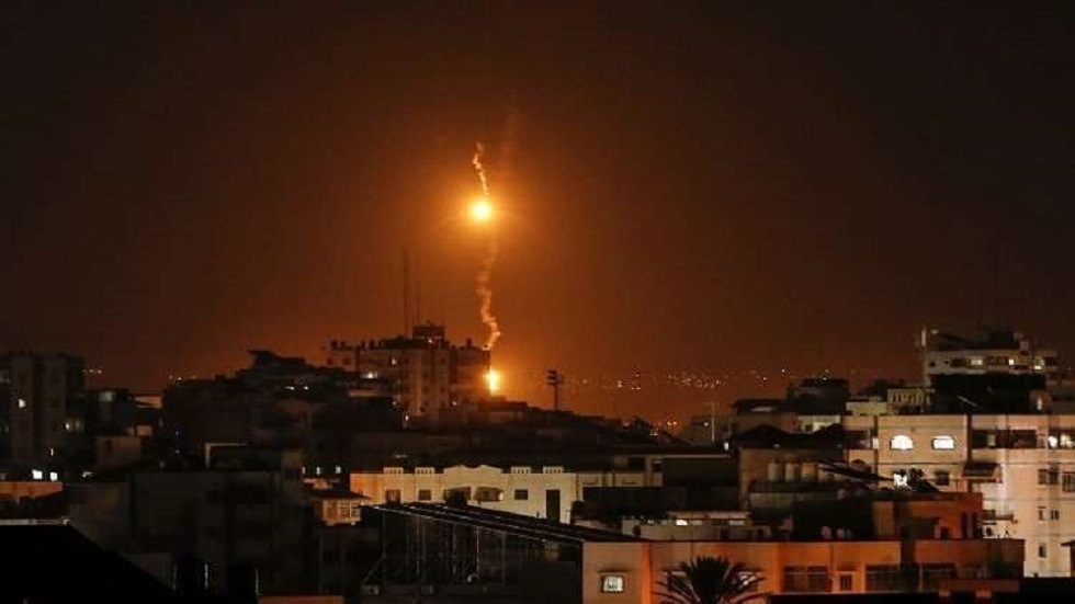 قصف إسرائيلي لقطاع غزة - ارشيف