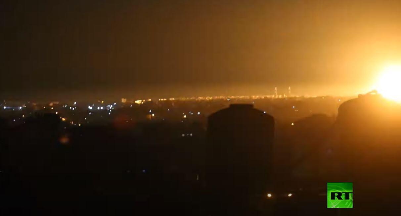 الطيران الإسرائيلي يقصف مواقع في غزة