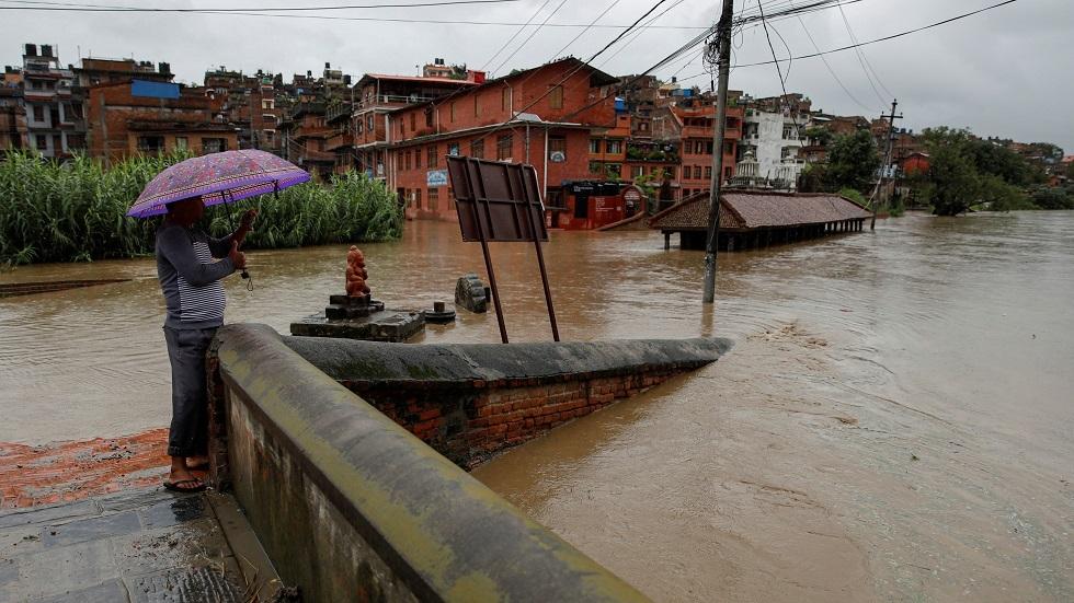 أمطار وسيول في نيبال