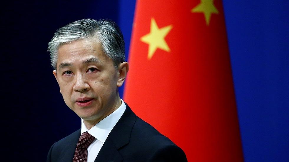 وانغ ون بينK المتحدث باسم وزارة الخارجية الصينية