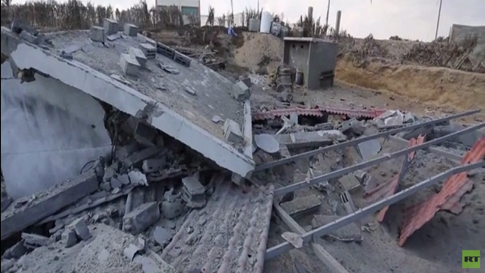 غارات إسرائيل على مواقع لحماس بقطاع غزة