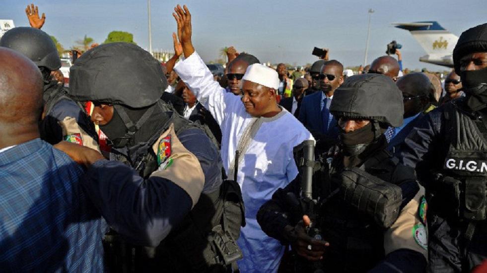 رئيس غامبيا آداما بارو