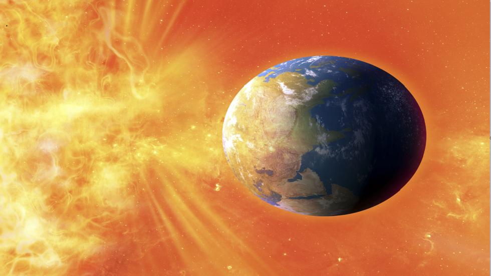 رياح شمسية تضرب الأرض بسرعة 2.1 مليون كم/الساعة!